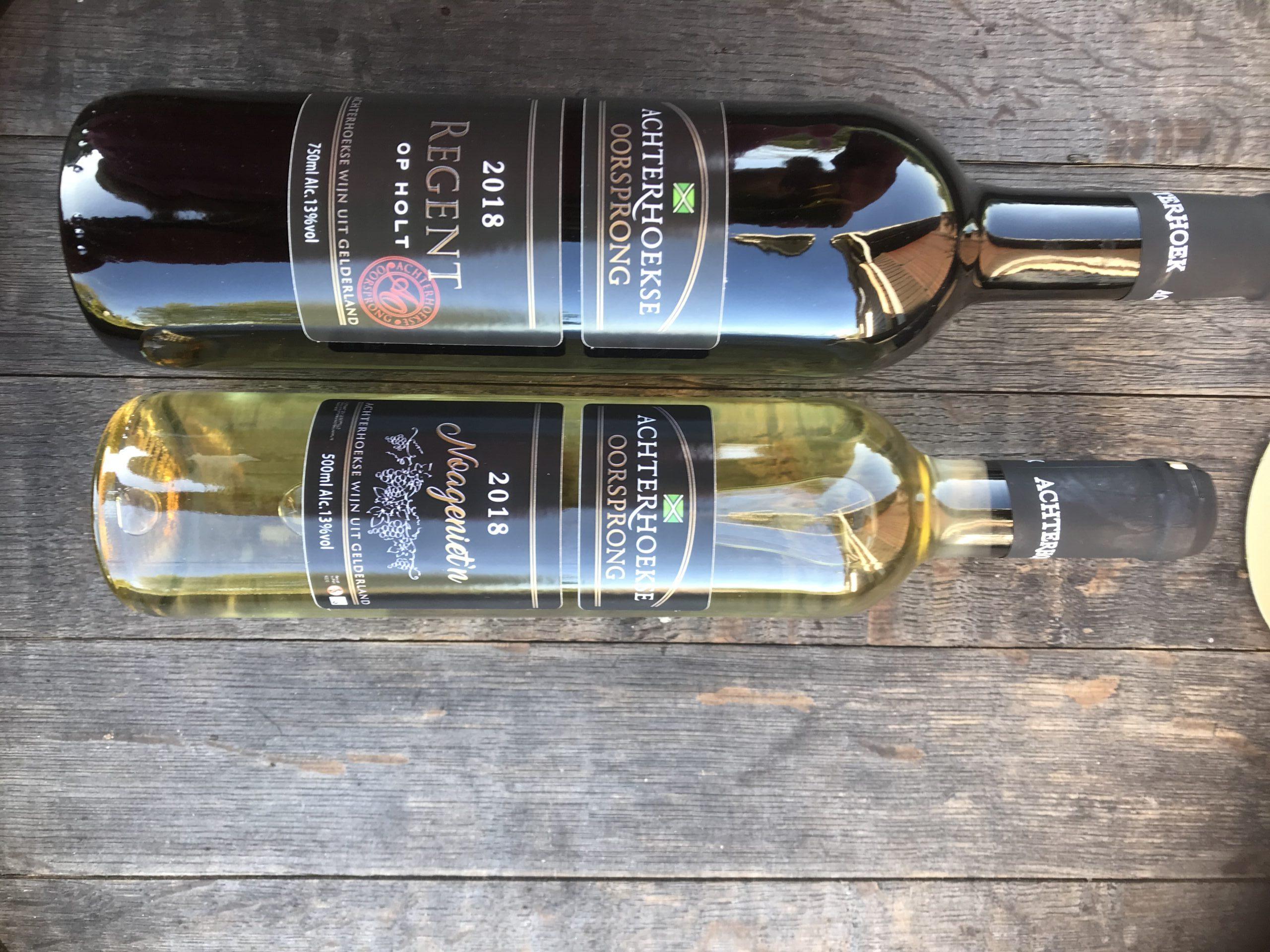 Prachtige wijnen van 2018 werden met een Gouden medaille gewaardeerd in hun klasse.